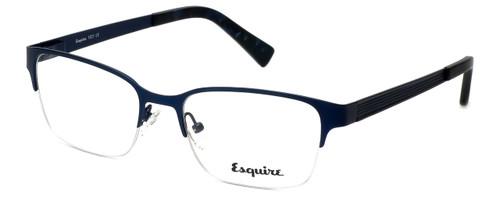 Esquire Designer Eyeglasses EQ1521 in Satin-Navy 53mm :: Rx Single Vision
