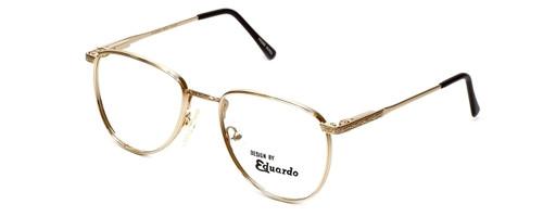 Regency Designer Eyeglasses Dover in Gold 52mm :: Rx Single Vision