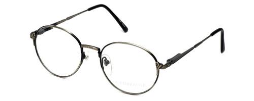 Regency Designer Eyeglasses Cambridge in Antique Silver 50mm :: Rx Bi-Focal