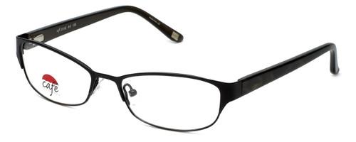 Silver Dollar Designer Eyeglasses Café 3152 in Ebony 52mm :: Rx Single Vision