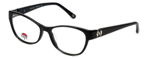 Silver Dollar Designer Eyeglasses Café 3201 in Caviar 53mm :: Rx Single Vision