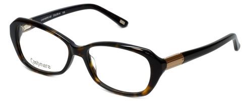 Silver Dollar Designer Eyeglasses Cashmere 452 in Tortoise 53mm :: Rx Single Vision