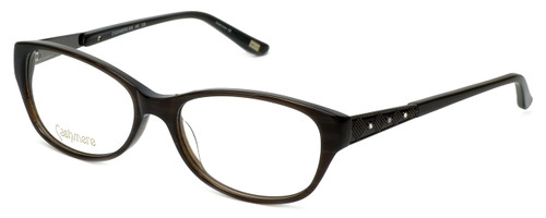 Silver Dollar Designer Eyeglasses Cashmere 455 in Charcoal 53mm :: Rx Single Vision