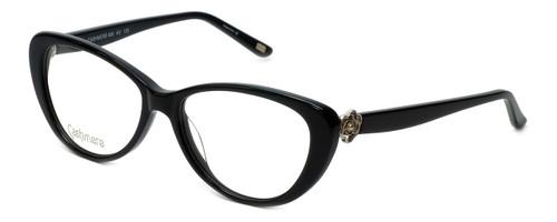 Silver Dollar Designer Eyeglasses Cashmere 456 in Caviar 53mm :: Rx Single Vision
