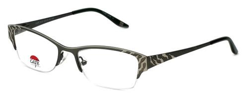 Silver Dollar Designer Eyeglasses Café 3210 in Moss 49mm :: Progressive