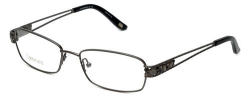 Silver Dollar Designer Eyeglasses Cashmere 446 in Graphite 53mm :: Progressive