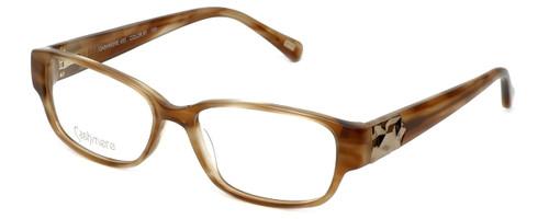 Silver Dollar Designer Eyeglasses Cashmere 450 in Light Tortoise 53mm :: Progressive