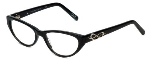Cinzia Designer Eyeglasses CBR04 in Black 51mm :: Rx Single Vision