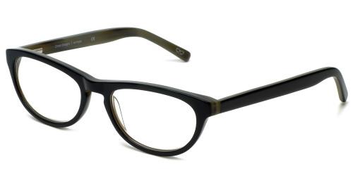 Cinzia Designer Eyeglasses Libertine C1 in Black 50mm :: Rx Single Vision