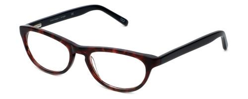 Cinzia Designer Eyeglasses Libertine C3 in Merlot Tortoise 50mm :: Rx Single Vision