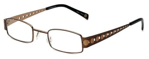 Cinzia Designer Reading Glasses Industrial C2 in Bronze 44mm