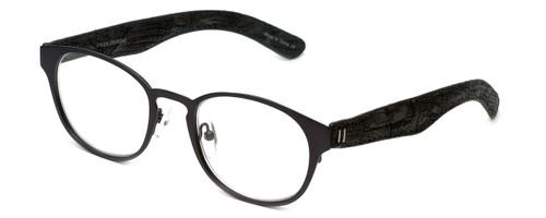 Cinzia Designer Reading Glasses The Innovator C3 in Grey 49mm