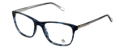 Original Penguin Designer Eyeglasses The Anderson in Navy 52mm :: Custom Left & Right Lens