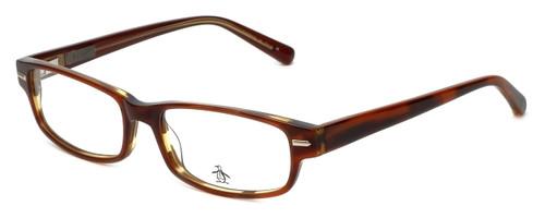 Original Penguin Designer Eyeglasses The Clemens in Blonde 54mm :: Custom Left & Right Lens