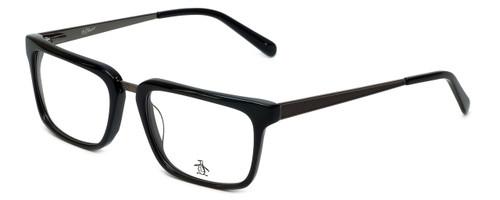 Original Penguin Designer Eyeglasses The Stanford in Black 55mm :: Custom Left & Right Lens