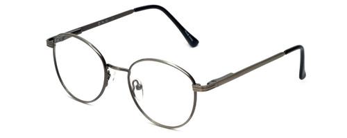 Flex Collection Designer Eyeglasses FL-43 in Ant-Pewter 48mm :: Rx Bi-Focal