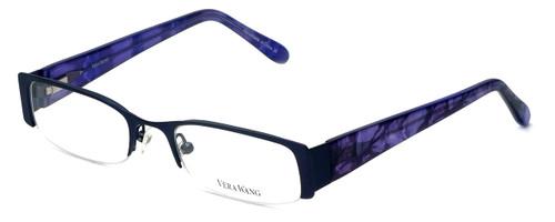 Vera Wang Designer Eyeglasses V045 in Iris 48mm :: Progressive