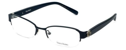 Vera Wang Designer Eyeglasses V078 in Black 50mm :: Progressive