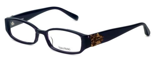 Vera Wang Designer Eyeglasses V055 in Plum 51mm :: Rx Bi-Focal