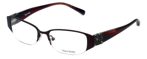 Vera Wang Designer Eyeglasses V065 in Burgundy 49mm :: Rx Bi-Focal
