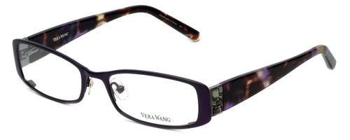 Vera Wang Designer Eyeglasses V075 in Plum 51mm :: Rx Bi-Focal