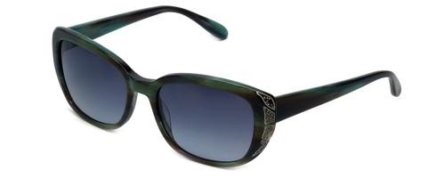 Vera Wang Designer Sunglasses Nevela in Santa Fe Tortoise Frame & Grey Gradient Lens 55mm