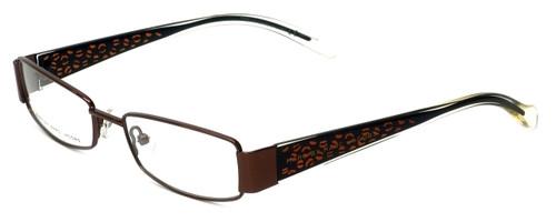 Marc Jacobs Designer Eyeglasses MMJ484-0YLG in Brown 52mm :: Custom Left & Right Lens