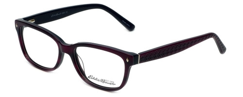 Eddie-Bauer Designer Reading Glasses EB8391 in Amethyst 52mm
