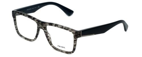 Prada Designer Eyeglasses VPR07S-UBD1O1-54mm in Grey-Tortoise 54mm :: Rx Single Vision