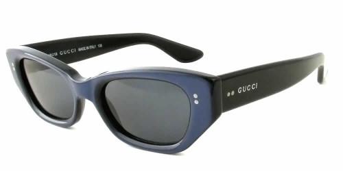 Gucci Designer Sunglasses 2418 in Blue-Black