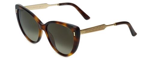 Gucci Designer Sunglasses GG3804-CRXHA in Dark-Havana-Gold 57mm