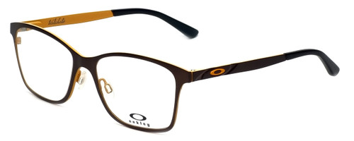 Oakley Designer Eyeglasses Validate OX5097-0353 in Brushed Chocolate 53mm :: Custom Left & Right Lens