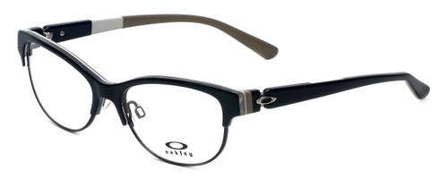 Oakley Designer Eyeglasses Throwback OX1108-0352 in Black 52mm :: Rx Bi-Focal