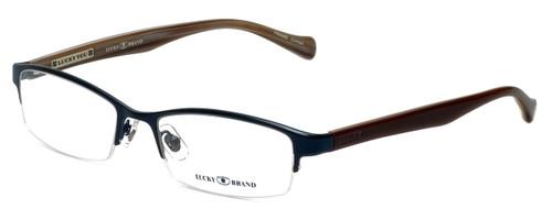 Lucky Brand Designer Reading Glasses Fleetwood in Navy 53mm