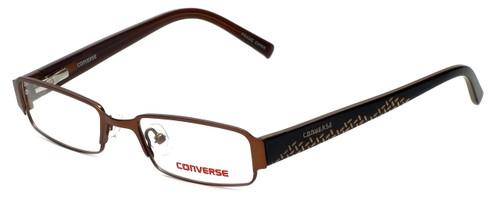 Converse Designer Eyeglasses Let Me Try in Brown 47mm :: Rx Single Vision