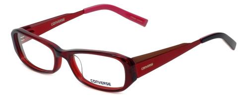 Converse Designer Eyeglasses Composition in Red 50mm :: Rx Bi-Focal