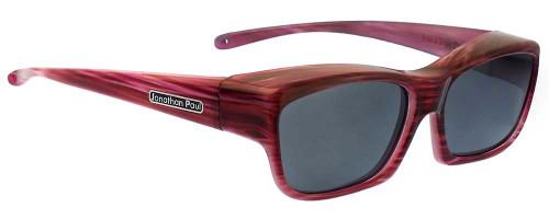 Jonathan Paul® Fitovers Eyewear Kids Extra-Small Choopa in Licorice & Gray CH002
