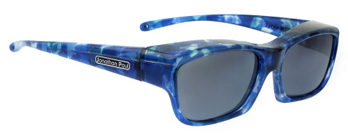 Jonathan Paul® Fitovers Eyewear Kids Extra-Small Coolaroo in Blue-Blast & Gray CL001