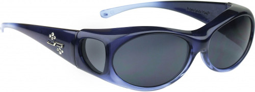 Jonathan Paul® Fitovers Eyewear Small Aurora in Sapphire & Gray AR004S