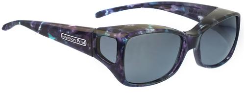 Jonathan Paul® Fitovers Eyewear Medium Dahlia in Mother-Pearl & Gray DL002