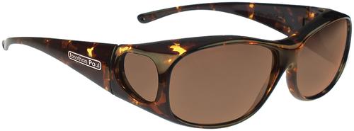Jonathan Paul® Fitovers Eyewear Medium Element in Tortoise & Amber EM007A