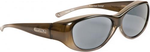 Jonathan Paul® Fitovers Eyewear Medium Kiata in Olive-Charcoal & Gray KA003