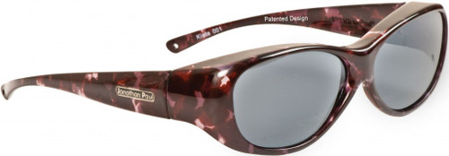 Jonathan Paul® Fitovers Eyewear Medium Kiata in Purple-Rain & Gray KA001