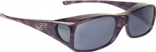 Jonathan Paul® Fitovers Eyewear Large Aria in Purple-Heart & Gray AA006S