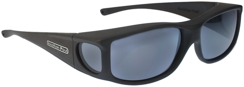 Jonathan Paul® Fitovers Eyewear Large Jett in Matte-Black & Gray JT001