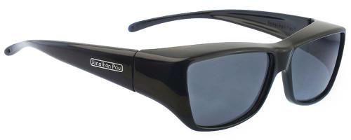 Jonathan Paul® Fitovers Eyewear Large Neera in Midnite-Oil & Gray NR001