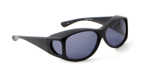 Jonathan Paul® Fitovers Eyewear Extra Large Fashion Series in Satin-Black & Gray Fl011