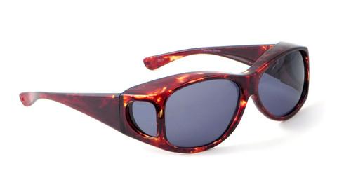 Jonathan Paul® Fitovers Eyewear Extra Large Fashion Series in Tortoise & Gray Fl010