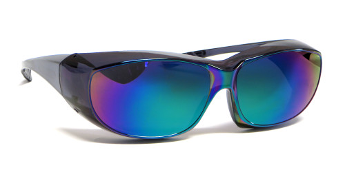 CALABRIA 6000GM Economy Fitover with UV PROTECTION IN GREEN MIRROR