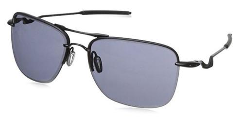 Oakley Designer Sunglasses Tail Hook in Satin-Black & Grey Lens (OO4087-01)